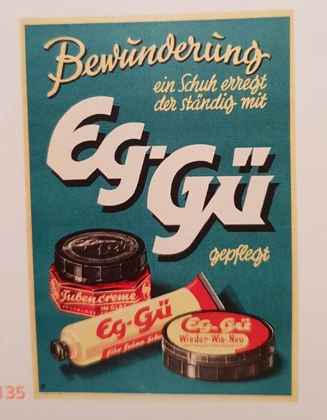 So sah Werbung für Schuhcreme in der DDR aus
