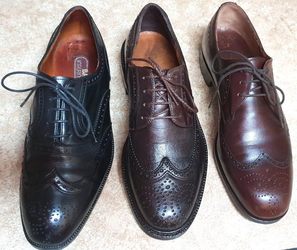 Schuh-Aufarbeitung, die sich gelohnt hat.