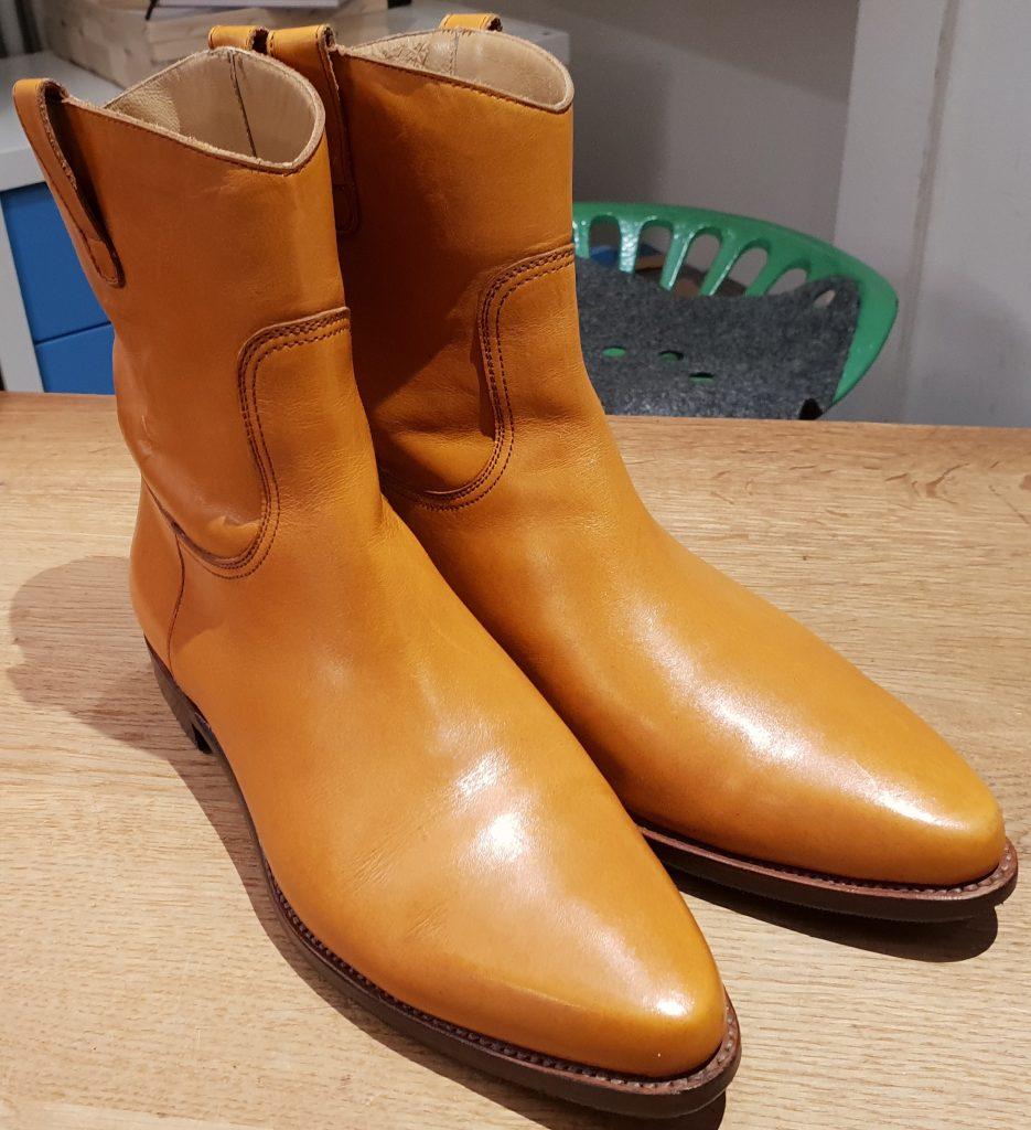 Damenschuhe: Carmina, Semi-Boots, 4/37