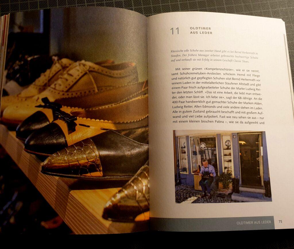 """Classic Shoes in """"Echte Schwarzwälder."""""""