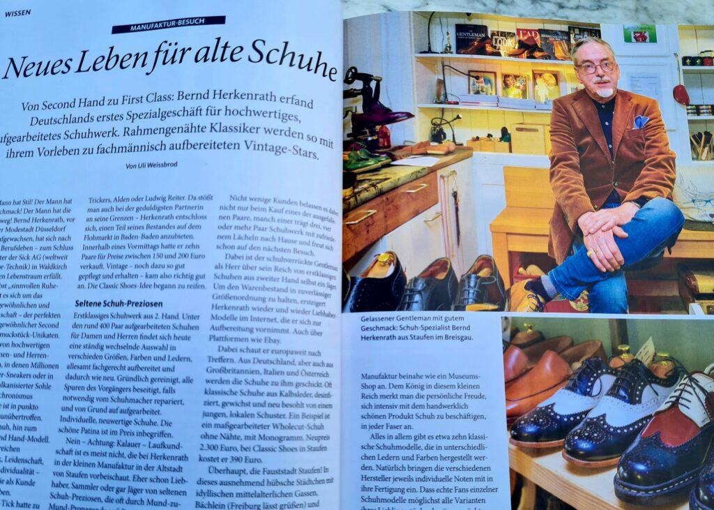 """Classic Shoes in """"Schöner Südwesten"""""""